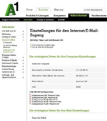 business webmail a1